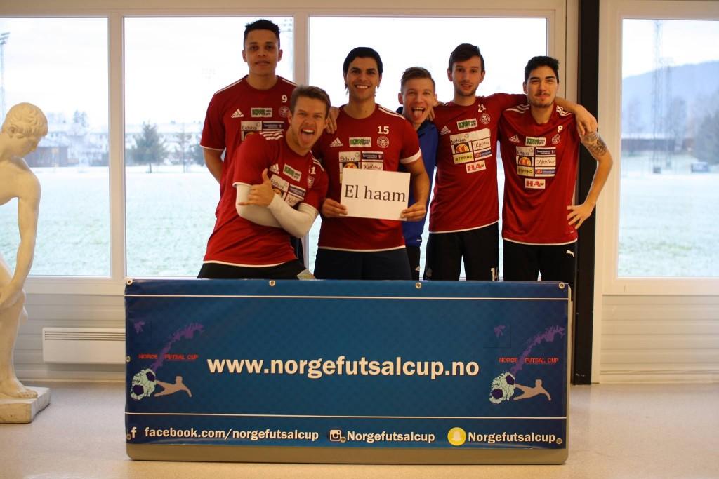 El Haam - Norge Futsal Cup - 19. desember 2015