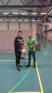 Cupens beste keeper Eirik Arnebrott - TIKI TAKA