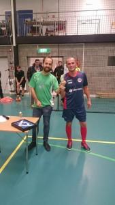 Cupens beste spiller Nedim Brbovic - Bosna United
