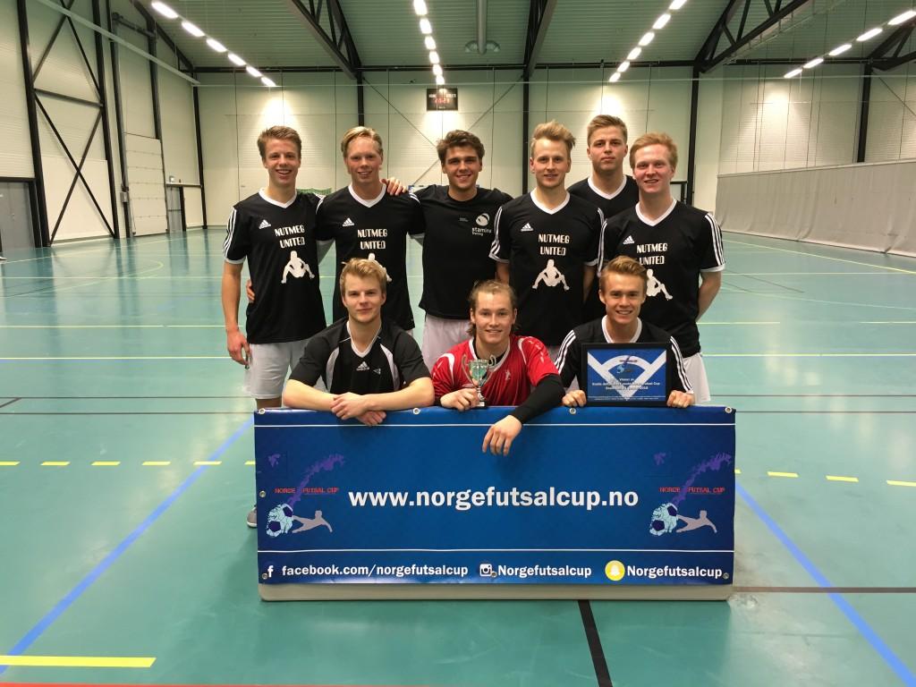 Vinner Norge Futsal Cup 3. jan - Nutmeg United