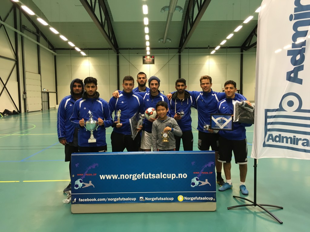 Vinner av cupen og fair play prisen Oslo Futsal